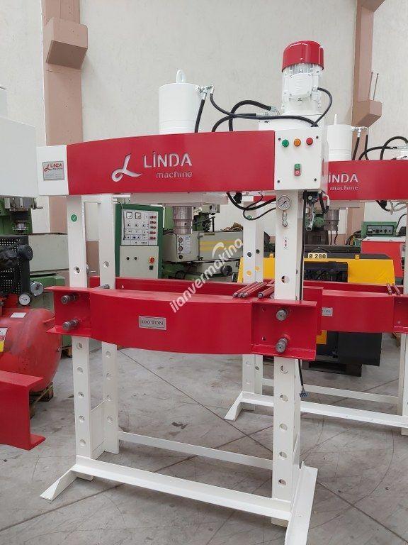 100 Ton Kollu Motorlu Linda Machine Hidrolik Atölye Presi