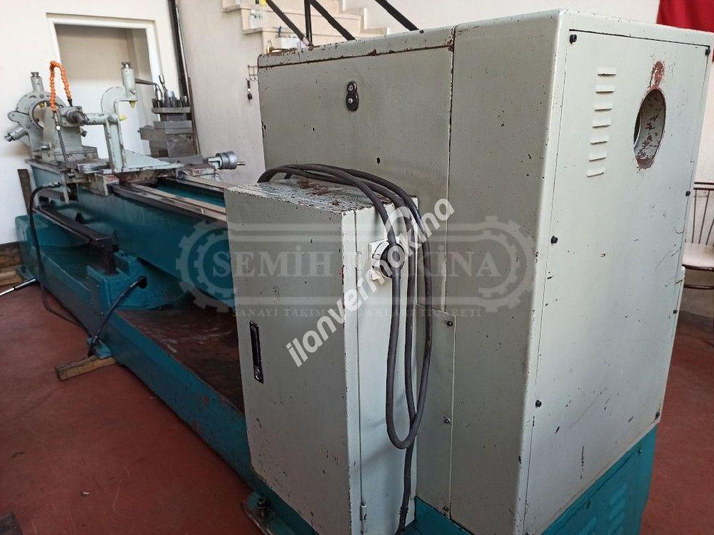 3 Metre Jetco (Monoblok) Özel Seri 660 Çap Fener Mili 105 Torna