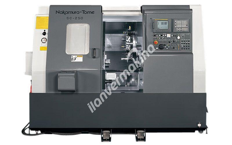 Nakamura Tome - SC-250 CNC Torna Tezgahı