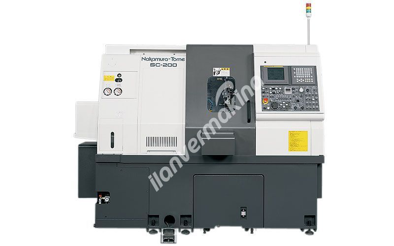 Nakamura Tome - SC-200 CNC Torna Tezgahı