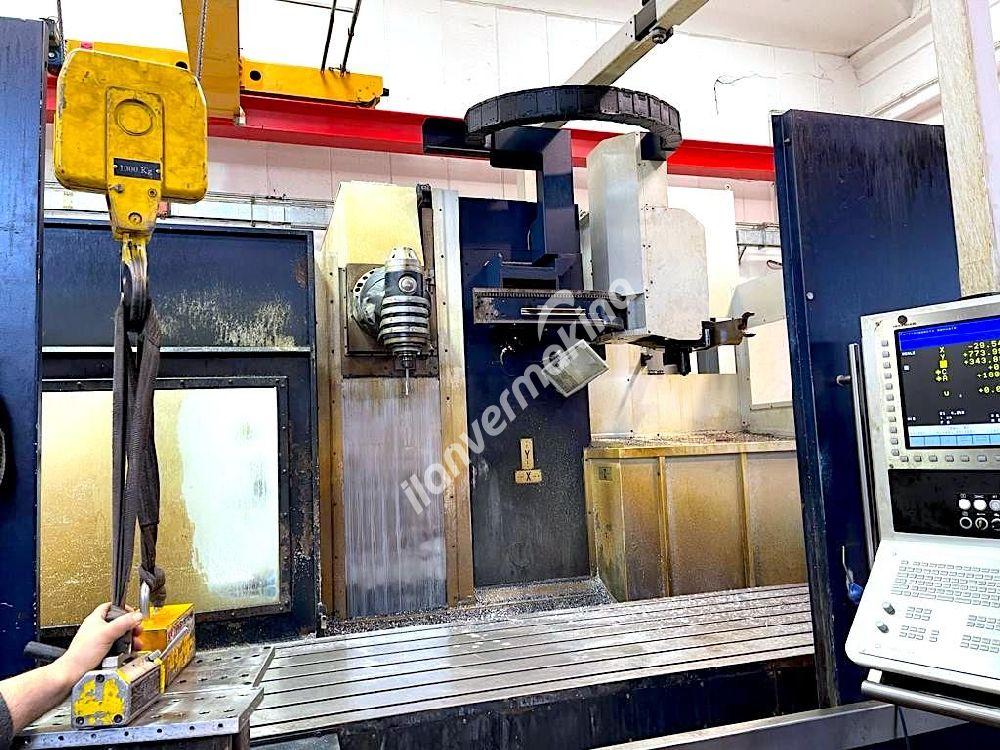 CNC bed milling machine Soraluce TA 35