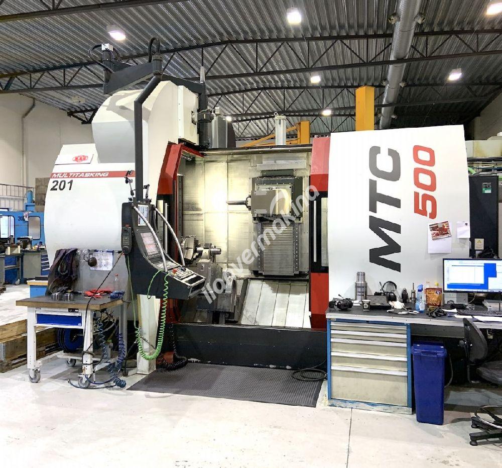 Turning center MAS Multicut 500i Cnc Otomat Torna