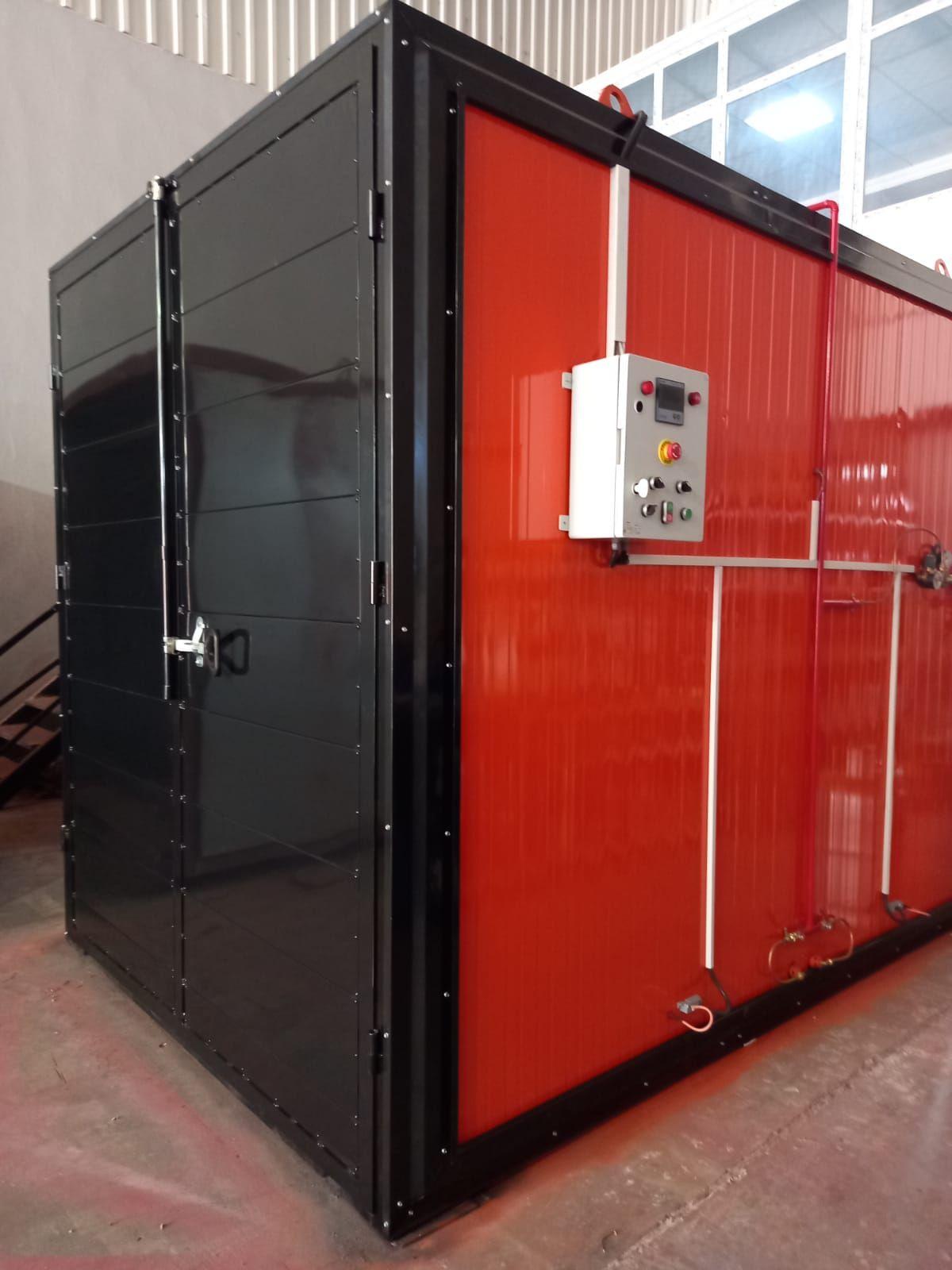 Elektrostatik Toz Boya Fırını LPG ISITMALI (SIFIR)