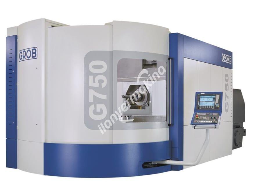Grob G750 CNC İşleme Merkezi