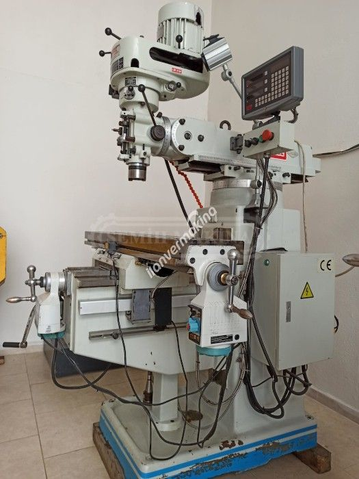 Sıfır Ayarında Full Otomatik Dijitalli Kondia Kalıpçı Freze Tezgahı