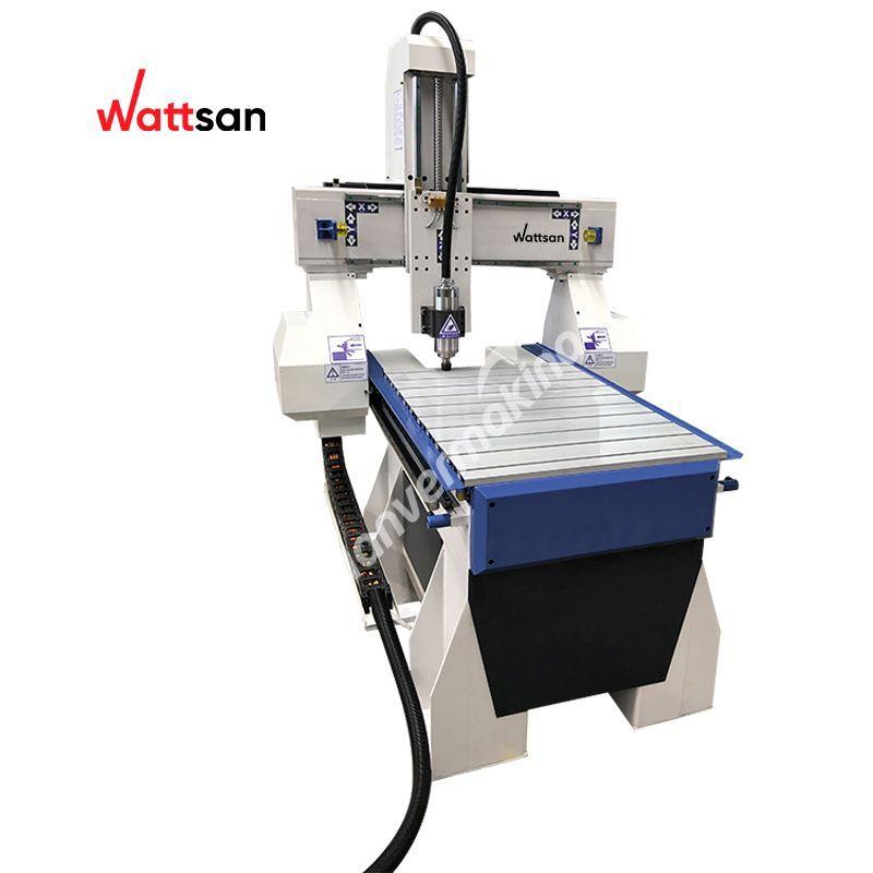 Wattsan A1 6090 Freze Makinesi - ahşap,kontrplak,MDF,alüminyum,bakır,plastik,akrilik,pleksiglas