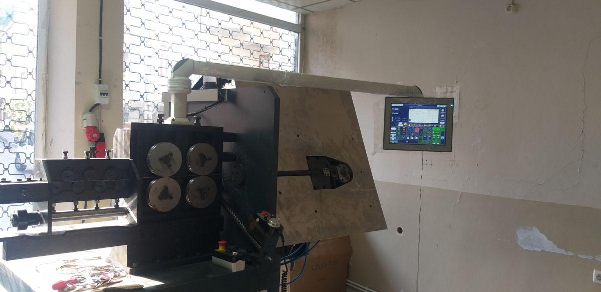 2D Cnc Tel Bükkme Makinesi