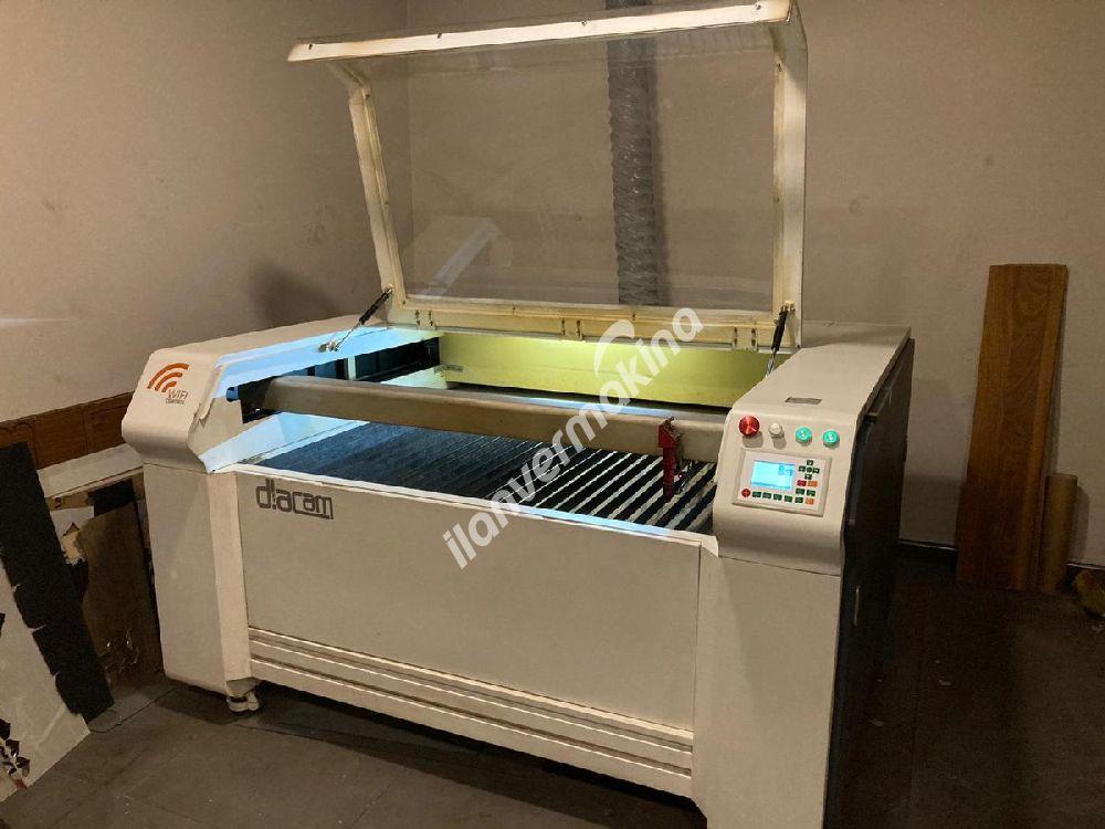 Çok Az Kullanılmış Lazer Kesim Makinesi